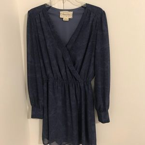 Urban Outfitters faux wrap dress